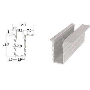 26 300x300 - รางอลูมิเนียมร่องลึก ยาว 6 เมตร
